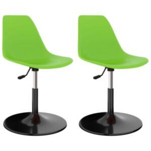 Pood24 pöörlevad toolid 2 tk, roheline, PP