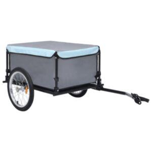 Pood24 kaubahaagis jalgrattale, must ja sinine, 65 kg