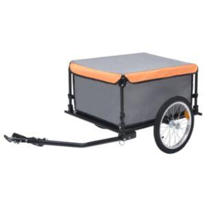 Pood24 kaubahaagis jalgrattale, hall ja oranž, 65 kg