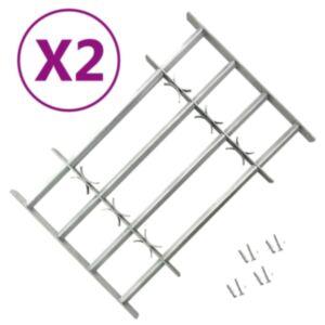 Pood24 reguleeritavad turvatrellid akendele 2 tk 1000–1500 mm