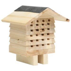 Pood24 mesilaste majake, toekas nulupuit, 22 x 20 x 20 cm
