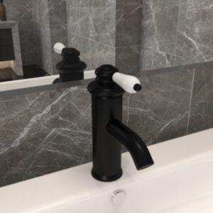 Pood24 vannitoa valamusegisti, must, 130 x 180 mm