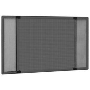 Pood24 laiendatav putukavõrk aknale, antratsiithall (75–143) x 50 cm