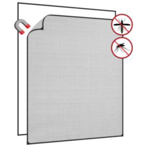 Pood24 magnetiga putukavõrk aknale, antratsiit, 130x150 cm, klaaskiud