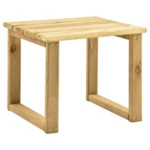 Pood24 päevitustooli laud, 30 x 30 x 26 cm, immutatud männipuit