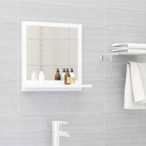 Pood24 vannitoa peeglikapp valge 40x10,5x37 cm puitlaastplaat
