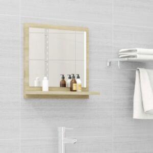 Pood24 vannitoa peeglikapp Sonoma tamm 40x10,5x37 cm puitlaastplaat