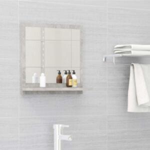 Pood24 vannitoa peeglikapp betoonhall 40x10,5x37 cm puitlaastplaat