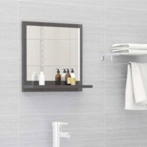 Pood24 vannitoa peeglikapp hall 40x10,5x37 cm puitlaastplaat