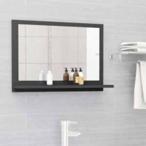 Pood24 vannitoa peeglikapp hall 60x10,5x37 cm puitlaastplaat
