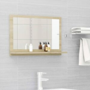 Pood24 vannitoa peeglikapp Sonoma tamm 60x10,5x37 cm puitlaastplaat