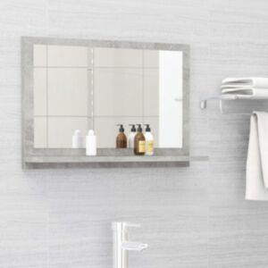 Pood24 vannitoa peeglikapp betoonhall 60x10,5x37 cm puitlaastplaat