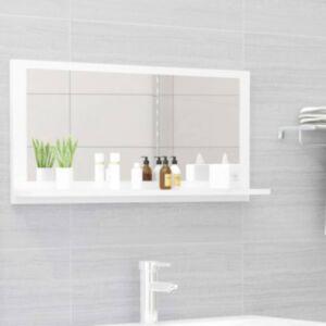Pood24 vannitoa peeglikapp valge 80x10,5x37 cm puitlaastplaat