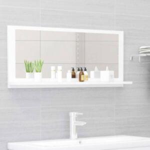 Pood24 vannitoa peeglikapp valge 90x10,5x37 cm puitlaastplaat