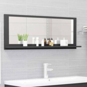 Pood24 vannitoa peeglikapp hall 100x10,5x37 cm puitlaastplaat