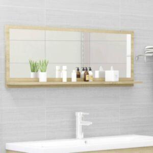 Pood24 vannitoa peeglikapp Sonoma tamm 100x10,5x37 cm puitlaastplaat