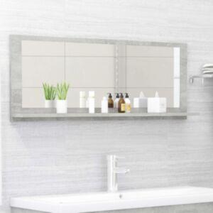 Pood24 vannitoa peeglikapp betoonhall 100x10,5x37 cm puitlaastplaat