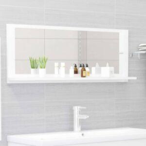 Pood24 vannitoa peeglikapp valge 100x10,5x37 cm puitlaastplaat