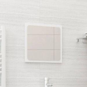 Pood24 vannitoa peegel, valge, 40 x 1,5 x 37 cm, puitlaastplaat
