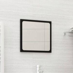 Pood24 vannitoa peegel, must, 40 x 1,5 x 37 cm, puitlaastplaat