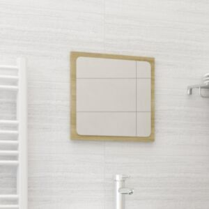 Pood24 vannitoa peeglikapp, Sonoma tamm, 40x1,5x37 cm, puitlaastplaat