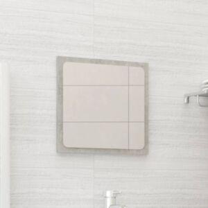 Pood24 vannitoa peegel, betoonhall, 40 x 1,5 x 37 cm, puitlaastplaat