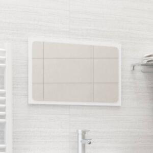 Pood24 vannitoa peeglikapp, valge, 60 x 1,5 x 37 cm, puitlaastplaat