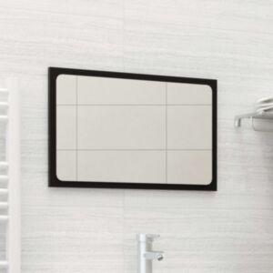 Pood24 vannitoa peeglikapp, must, 60 x 1,5 x 37 cm, puitlaastplaat