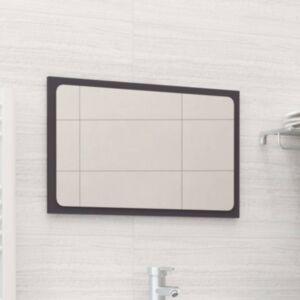 Pood24 vannitoa peegel, hall, 60 x 1,5 x 37 cm, puitlaastplaat