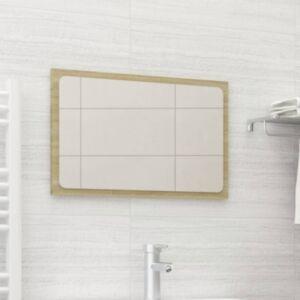 Pood24 vannitoa peegel, Sonoma tamm, 60 x 1,5 x 37 cm, puitlaastplaat