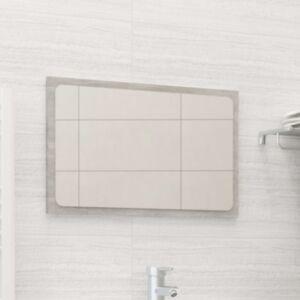 Pood24 vannitoa peegel, betoonhall, 60 x 1,5 x 37 cm, puitlaastplaat