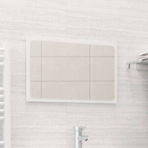 Pood24 vannitoa peeglikapp valge 60x1,5x37 cm puitlaastplaat