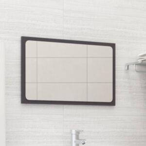 Pood24 vannitoa peegel kõrgläikega valge 60x1,5x37 cm puitlaastplaat