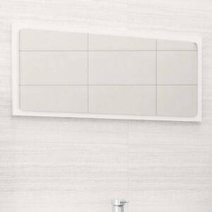 Pood24 vannitoa peeglikapp, valge, 80 x 1,5 x 37 cm, puitlaastplaat