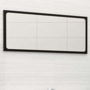 Pood24 vannitoa peeglikapp, must, 80 x 1,5 x 37 cm, puitlaastplaat
