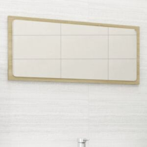 Pood24 vannitoa peeglikapp, Sonoma tamm, 80x1,5x37 cm, puitlaastplaat