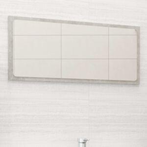 Pood24 vannitoa peegel, betoonhall, 80 x 1,5 x 37 cm, puitlaastplaat