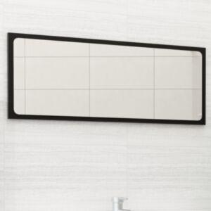 Pood24 vannitoa peeglikapp, must, 90 x 1,5 x 37 cm, puitlaastplaat