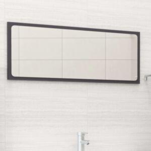 Pood24 vannitoa peegelkapp, hall, 90 x 1,5 x 37 cm, puitlaastplaat
