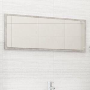 Pood24 vannitoa peegel, betoonhall, 90 x 1,5 x 37 cm, puitlaastplaat