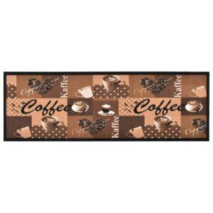 Pood24 köögivaip, pestav, kohv, pruun, 45 x 150 cm