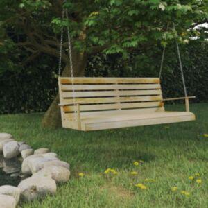 Pood24 aiakiik, immutatud männipuidust,  155 x 65 x 60 cm