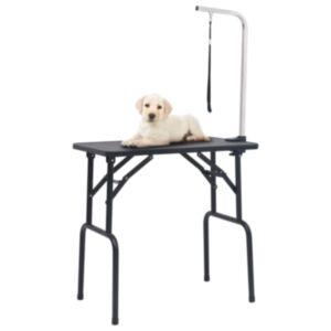 Pood24 reguleeritav koera pügamise laud koos 1 aasaga