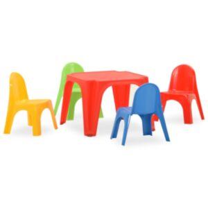 Pood24 lastelaua ja -toolide komplekt, PP