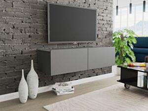 Seinale kinnituv telerilaud CLAUDE CRTV120-grafit