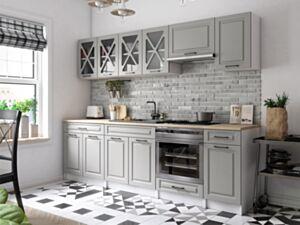 Köögimööbel GERTRID 260cm stone mat + 2.6m töötasapind
