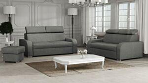 Pehme mööbli komplekt Losar 3+2+tumba