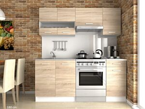 Köögikomplekt Luiza III 180cm- sonoma