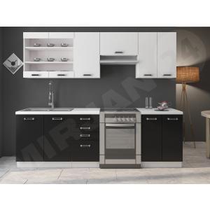 Köögikomplekt Harvey Black