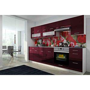 Köök Scarlet 260 cm bordoo punane